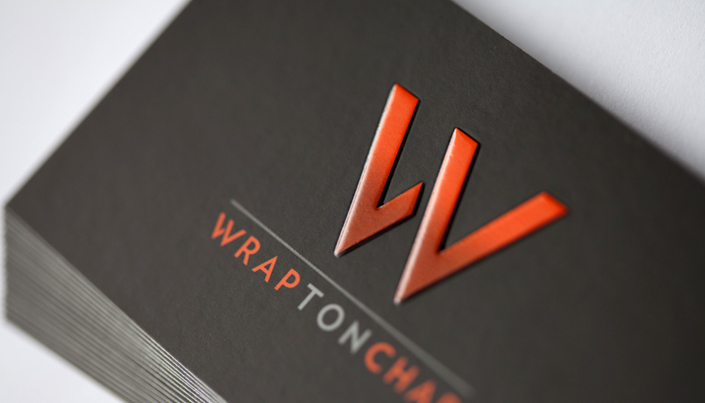 Embossing and Spot UV