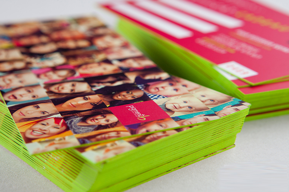 Painted Edges Cards