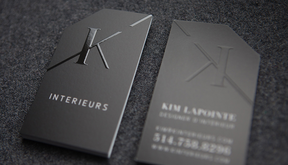 Business card ideas mississauga luxury cards blind embossing and spot uv reheart Images