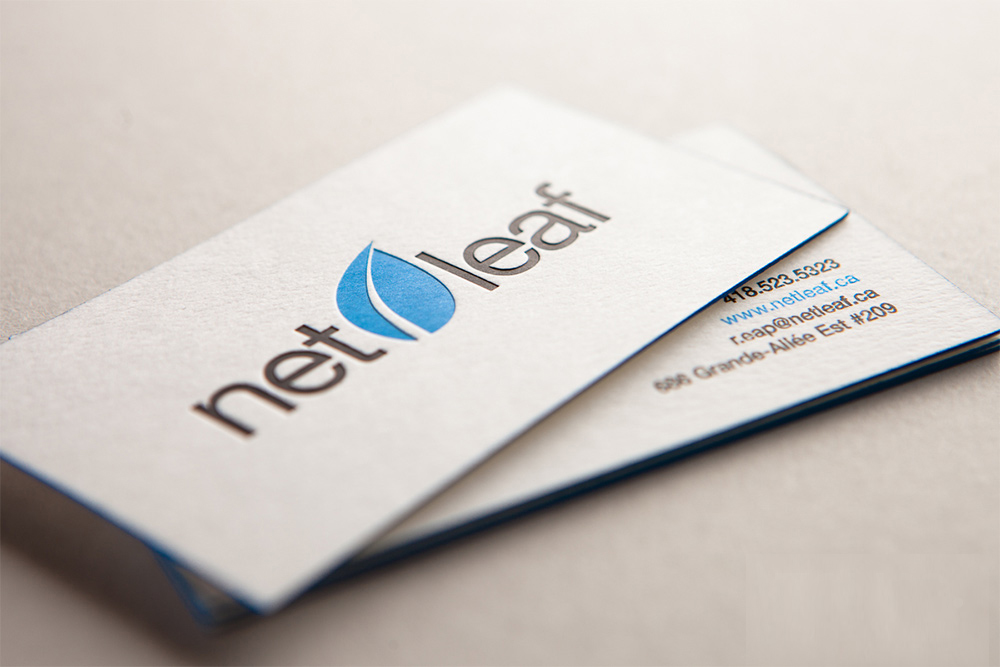 Debossed Business Cards | Mississauga - Luxury Cards