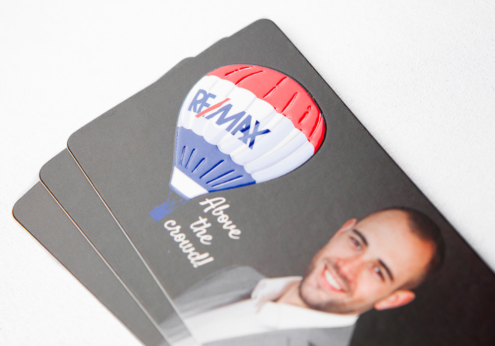 Spot UV Business Card Printing - Luxury Cards