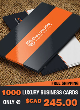 Luxury business cards custom business cards canada business card offier reheart Image collections